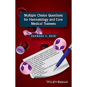 أسئلة متعددة الاختيار ب المتدربين الطبية الأساسية وأمراض الدم