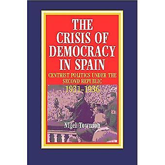 La crisi della democrazia in Spagna: politica radicale centrista sotto la seconda Repubblica, 1931-36