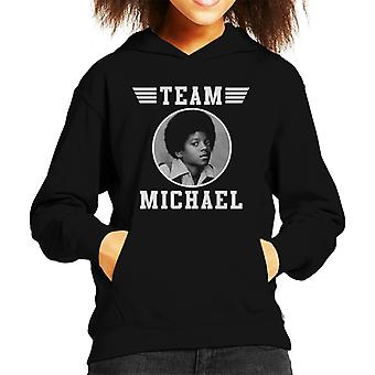 Team Michael Jackson Top Gun geïnspireerd Kid's Hooded Sweatshirt