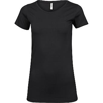 Tee Jays Womens/Ladies Fashion Stretch Long Length T-Shirt