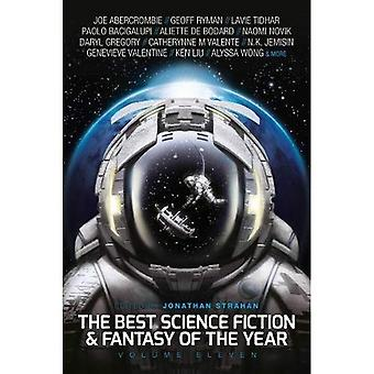 The Best Science Fiction and Fantasy of the Year, Volume Eleven (Best SF & Fantasy of the Year)