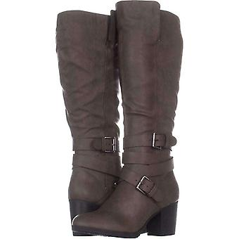 Style & Co. Womens Jomaris Almond Toe Knee High Fashion Boots