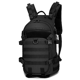 Large backpack in black, may-45x32x17 cm