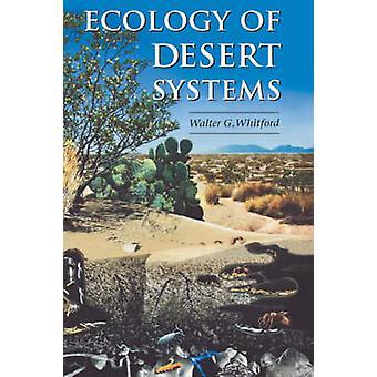Ekologi av öknen system av Whitford & Walter