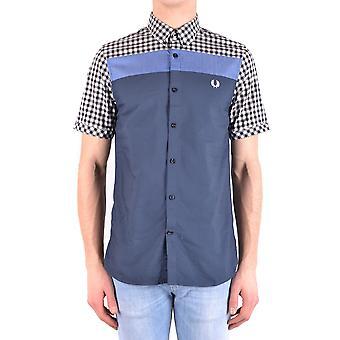 فريد بيري قميص القطن متعدد الألوان