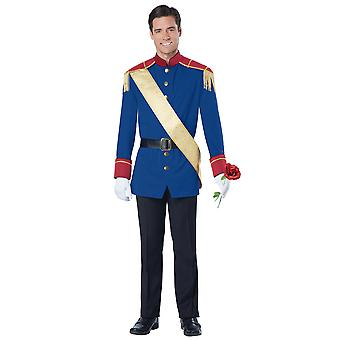 Storybook Prince Charming Royal Fairytale Renaissance Book Weeks Mens Costume