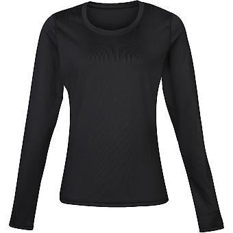 Rhino Womens Lightweight Quick Dry maniche lunga superiore Baselayer