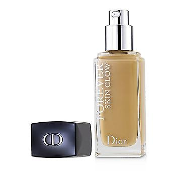 Christian Dior Dior Forever Skin Glow 24h Wear High Perfection Foundation Spf 35 - # 3wo (warm Olive) - 30ml/1oz
