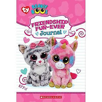 Vänskap päls-Ever (Beanie Boos guidad journal med fuzzy Cover)