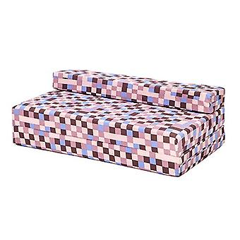 Ready Steady Bed® Pixels Brown Design Children's Fold Out Double Z Bed
