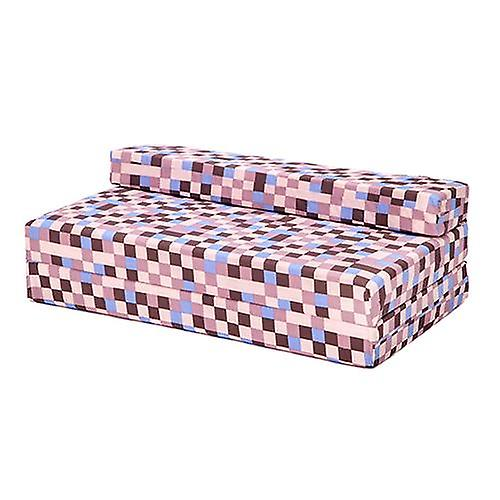Fold Out Ready Bed® Steady Z Bed Brown Children's Pixels Design Double N8OPynvm0w
