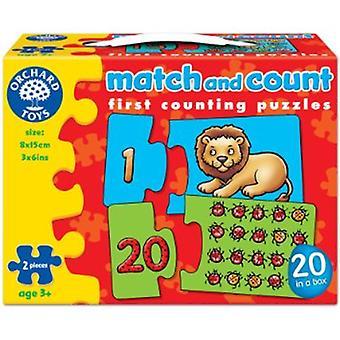 Orchard Toys partita e totali Jigsaw puzzle