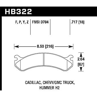 Hawk Performance HB322Y.717 LTS