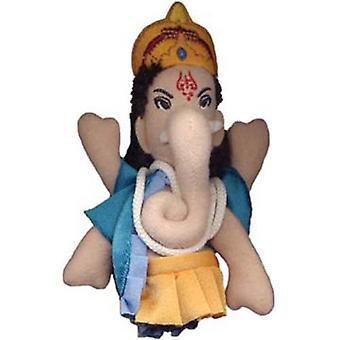 Finger Puppet - UPG - Ganesh Soft Doll Toys Gifts Licensed New 0923