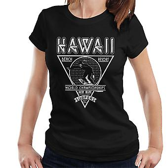 London Banter Hawaii New Wave Surfers Women's T-Shirt