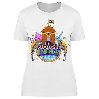 Famous Indian Monument Tee Women's -Image by Shutterstock