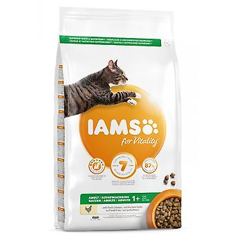 Iams Adult Vitality Cat Food With Chicken