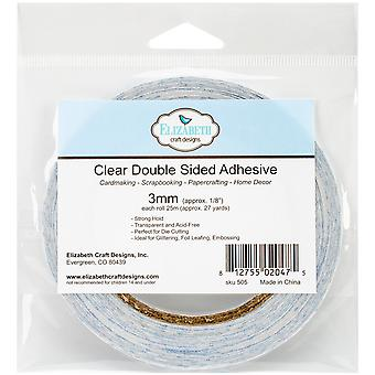 Elizabeth Craft Clear Double-Sided Adhesive Roll 2mm-1/8