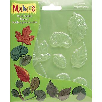 Makin's Clay Push Molds Leaves M390 1