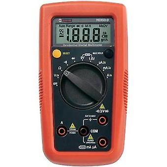 Handheld multimeter digital Beha Amprobe Hexagon 60 Calibrated to: Manufacturer standards CAT III 600 V Display (counts
