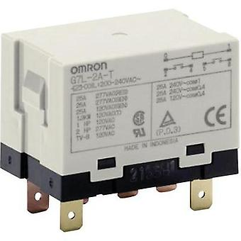 Plug-in relay 12 Vdc 25 A 2 makers Omron G7L-2A-T