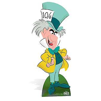 Il Cappellaio matto di Alice nel paese delle meraviglie Disney cartone Lifesize ritaglio / Standee / Stand Up