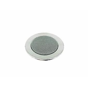 Flush mount speaker Omnitronic CS-2.5C 6 W 100 V Silver 1 pc(s)