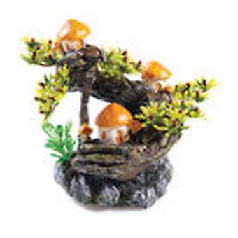 Classic For Pets Mushroom Tree T&OS   2pcs (Fish , Decoration , Ornaments)