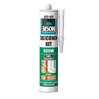 Bison Siliconenkit Bouw Wit 310 Ml