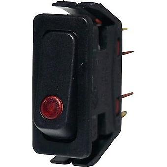 Toggle switch 250 Vac 16 A 1 x On/Off Arcolectric C6003PLNAA latch 1 pc(s)