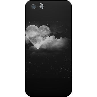 Cover Heart moon for iPhone 5S/SE