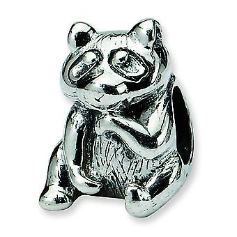 Sterling Silver Reflections Racoon Bead Charm