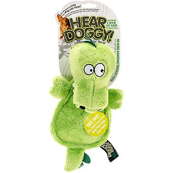 Hear Doggy Flattie With Chew Guard-Gator 58546