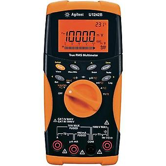 Handheld multimeter digital Keysight Technologies U1242B Calibrated to: Manufacturer standards Data logger CAT III 1000