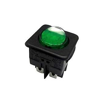 Toggle switch 250 Vac 10 A 1 x Off/On SCI R13-104B-01 B/G latch 1 pc(s)