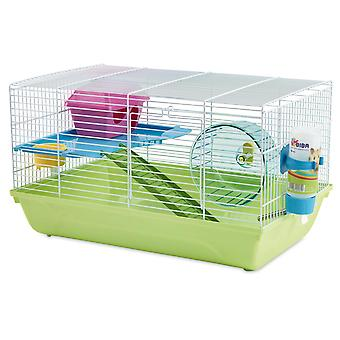 Martha Double Hamster Cage 46.5x29.5x26.5cm (Pack of 3)