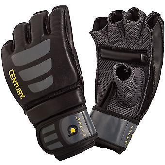Century Brave Grip Bar MMA Transition Training Bag Gloves - Black/Gray