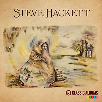 5 Classic Albums by Steve Hackett