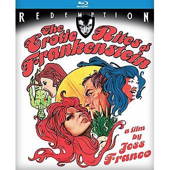 Erotisk ritualer af Frankenstein [BLU-RAY] USA importerer