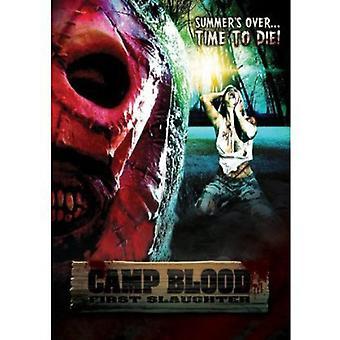 Camp blod første slagtning [DVD] USA importerer