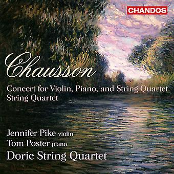 Ernest Chausson - Ernst Chausson: Concert Pour Violin, Piano Et Quatuor en Cordes, Op. 21; Quatuor en Cordes, Op. 35 [CD] USA import
