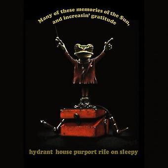 Brandhane hus foregiver udbredt på Sleepy - mange af disse erindringer om solen & stigende Gra [CD] USA importen