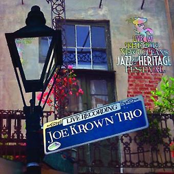 Joe Krown Trio - Live på Jazzfest 2013 [CD] USA import
