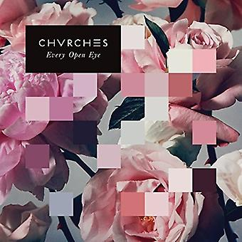 Chvrches - alle åbne Eye(Dlx) [CD] USA importerer
