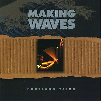 Portland Taiko - Making Waves [CD] USA importerer