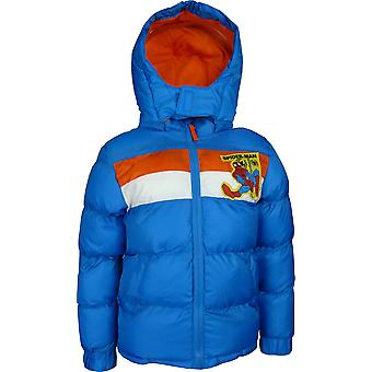 Boys Marvel Spiderman | Hooded Winter Jacket