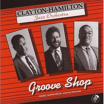 Clayton-Hamilton Jazz Orchestra - Groove Shop [CD] USA import