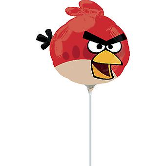 Angry birds balloon red bird shape balloon deluxe decoration party