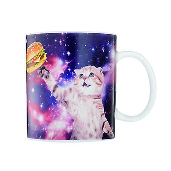 Cat in space coffee cup coffee mug cat cup