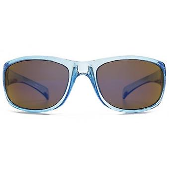 Monkey Monkey Childrens Jack Boys Sporty Wrap Sunglasses In Crystal Blue